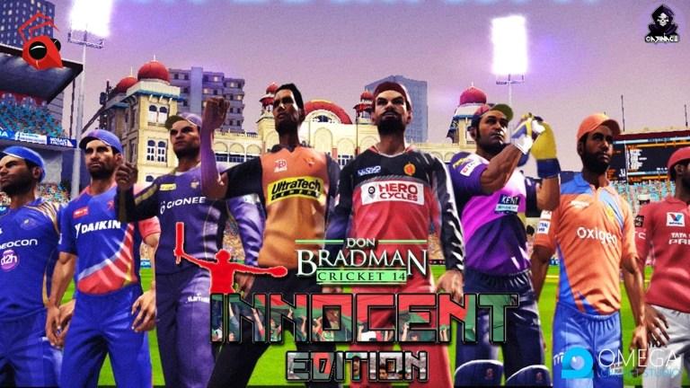 Don Bradman Cricket 2014 Innocent Edition V6.0 for Don Bradman Cricket 14