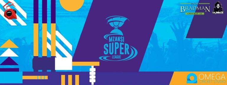 Mzansi Super League 2019 Patch for Don Bradman Cricket 14