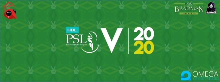 PSL 2020 Patch for Don Bradman Cricket 14