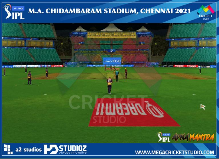M.A Chidambaram Stadium 2021 for EA Cricket 07