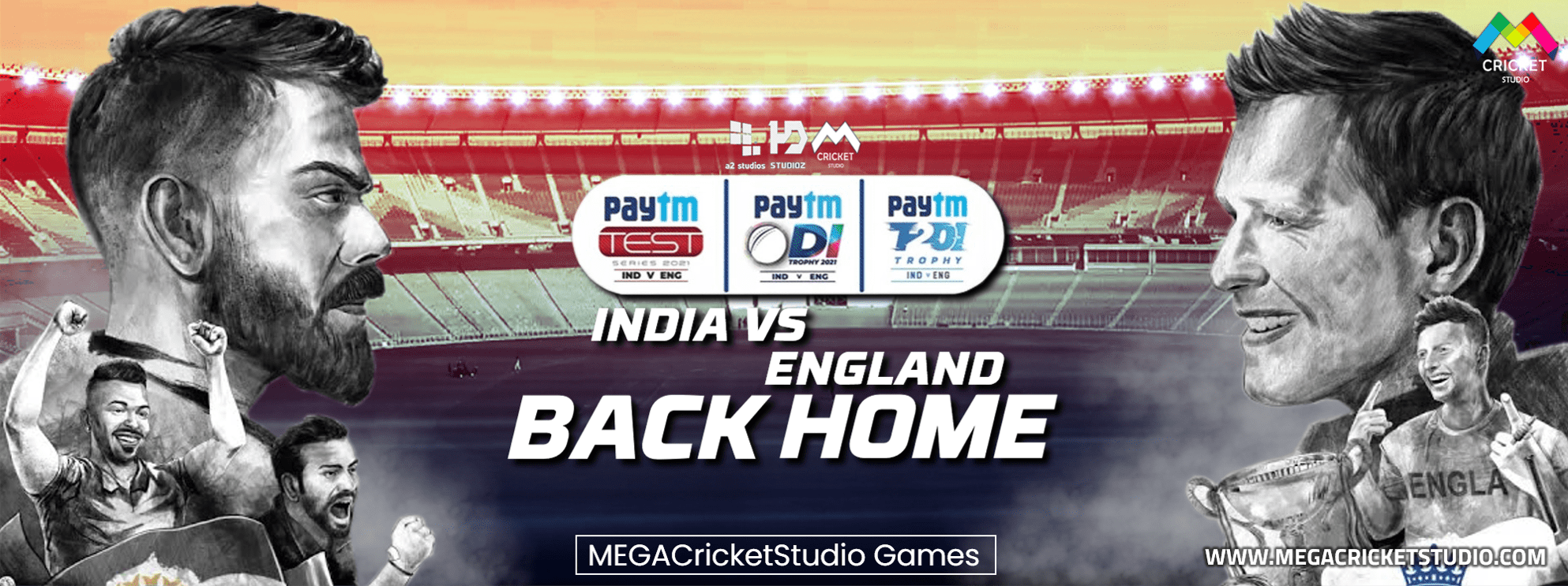 a2 hd studioz india vs england 2021 back home patch for ea cricket 07 download