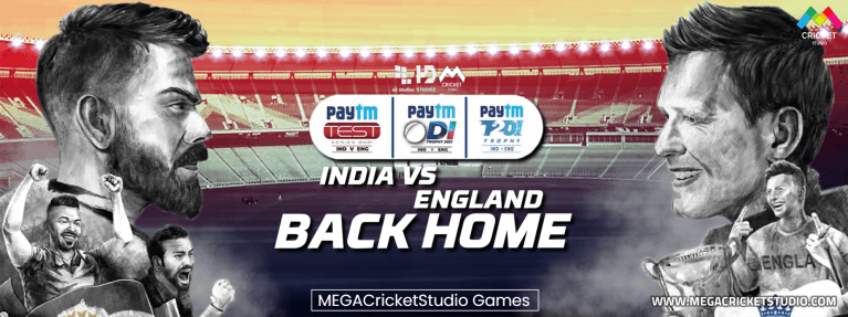 India vs England 2021 Back Home Patch for EA Cricket 07 – A Brand New 2021 Cricket Game for PC/Laptop
