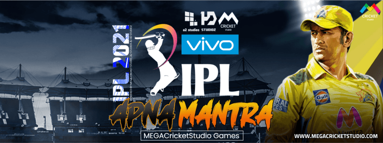 VIVO IPL 2021 Apna Mantra Patch for EA Cricket 07 – A Brand New 2021 Cricket Game for PC/Laptop