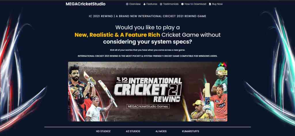 how to download international cricket 2021 rewind patch