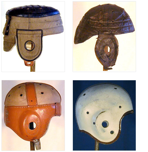 Vintage Football Helmets
