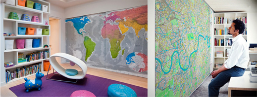 Future Mapping – Wall map