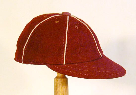 1910 s Short Brim Baseball Cap f8bcd40a2e9