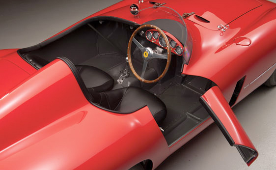 1955 Ferrari Monza Spyder - Top View