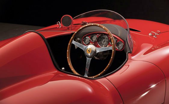 1955 Ferrari Monza Spyder - Cockpit