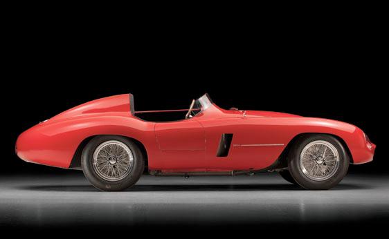 1955 Ferrari Monza Spyder - Side view