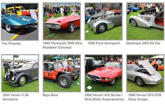 10 Wildest and Weirdest Car Restorations from Monterey Weekend