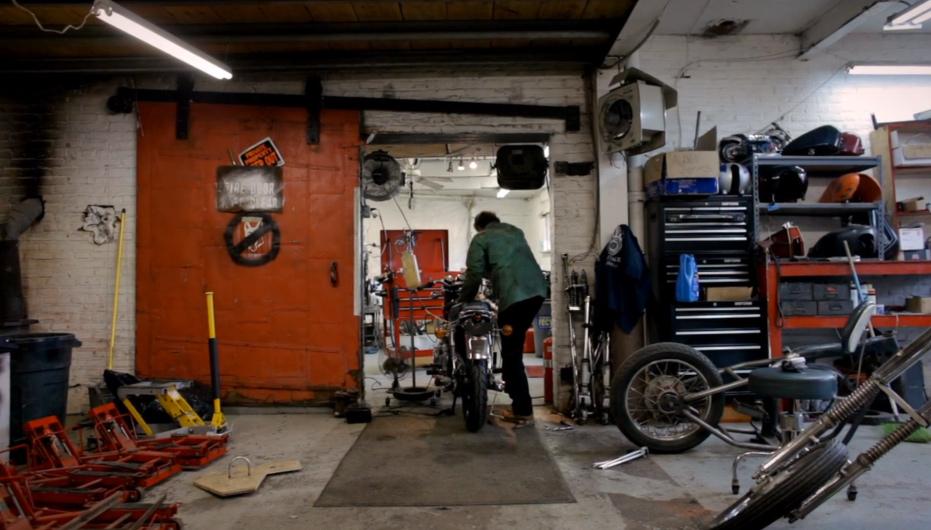 Adam Cramer :: Liberty Vintage Motorcycles - Portrait of a Generation