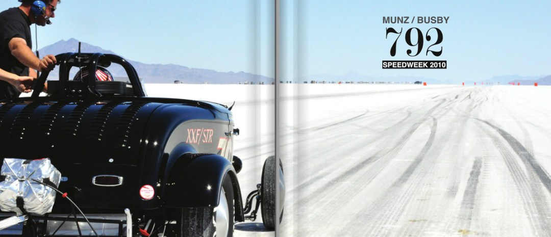 Bonneville Salt Flats With 792 :: Blurb Book
