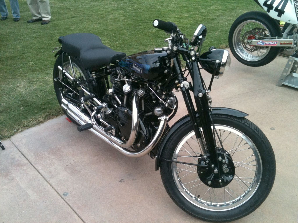 1949 Vincent Rapide :: Craigslist Find :: Los Angeles