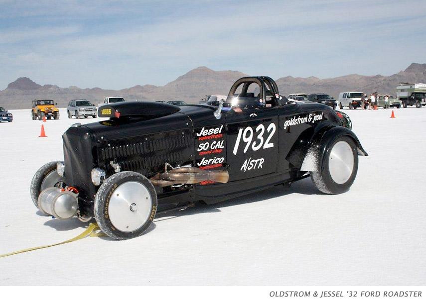 Oldstrom & Jessel '32 Ford Roadster