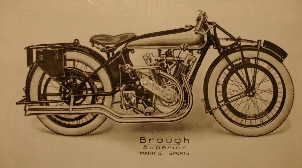Brough Superior Mark II Sports 1922-23