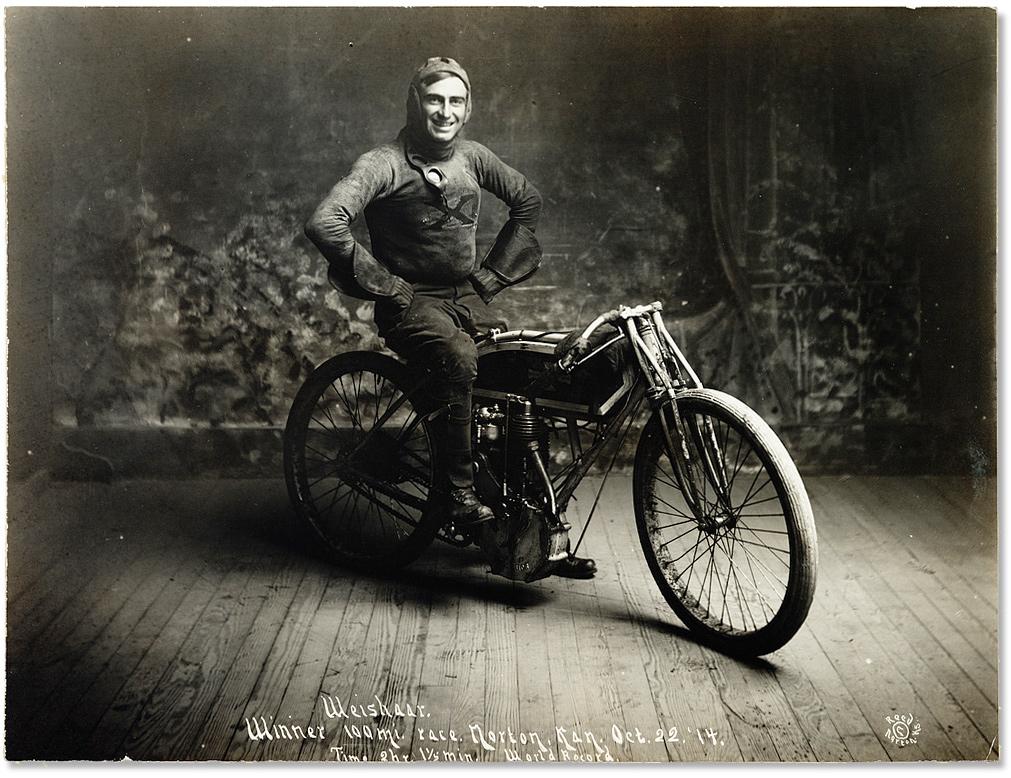Weishaar Winner 100 Mile Race :: 1914