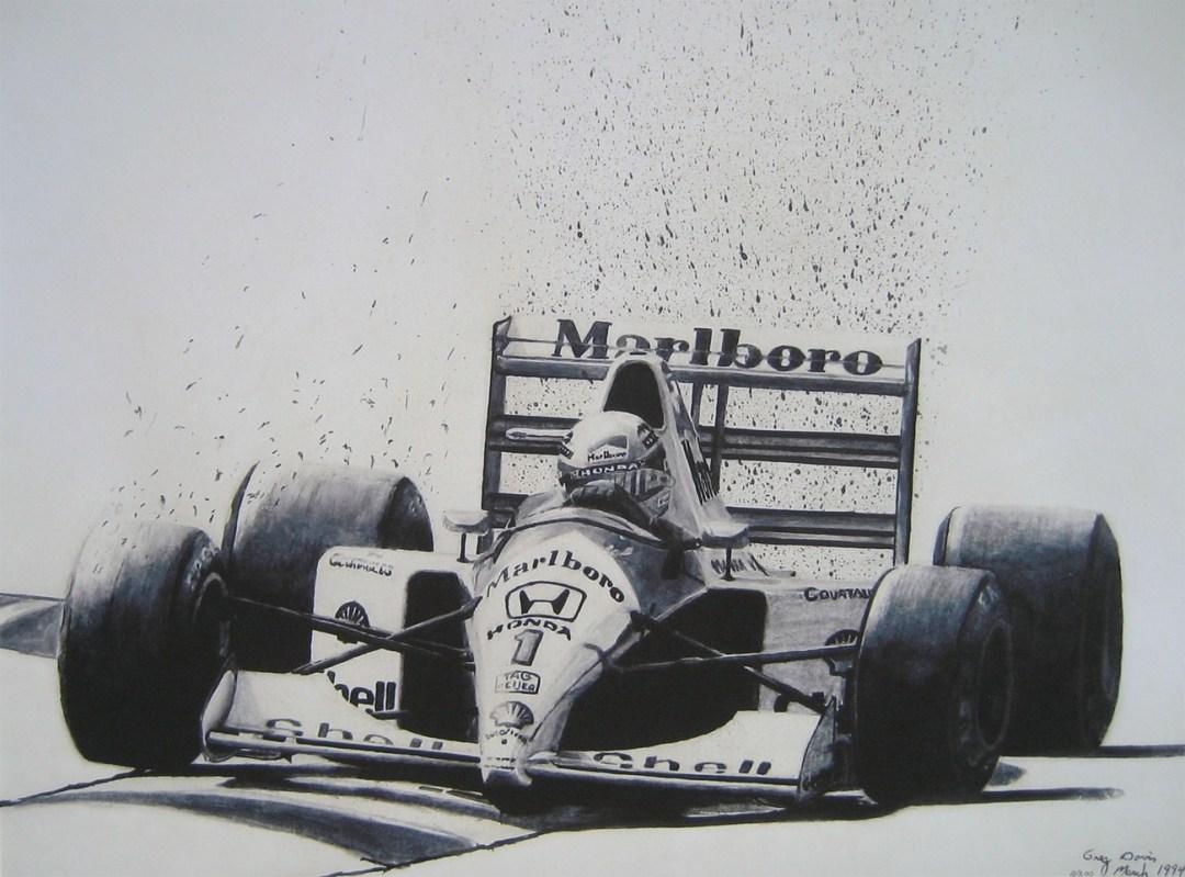 World Champions – Ayrton Senna ::  By Greg Davis