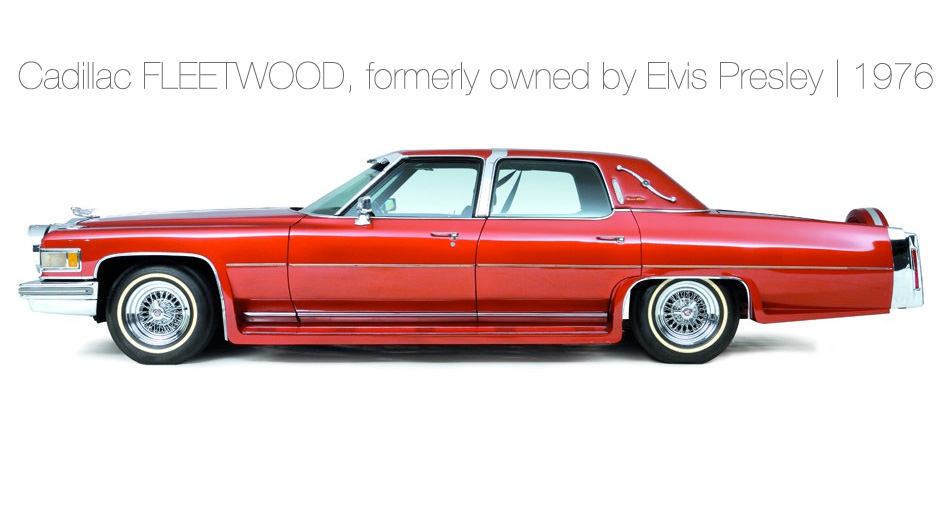 Cadillac FLEETWOOD, formerly owned by Elvis Presley | 1976