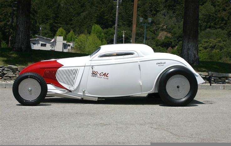 Bonneville Salt Flats So-Cal '34 Coupe :: Canepa Motorsports Museum (3)