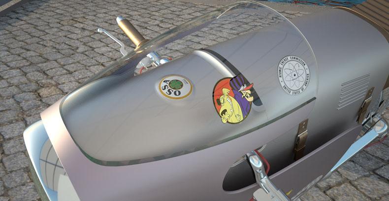 Monocasco Electric Concept Bike :: Art Tic Of Barcelona (3)
