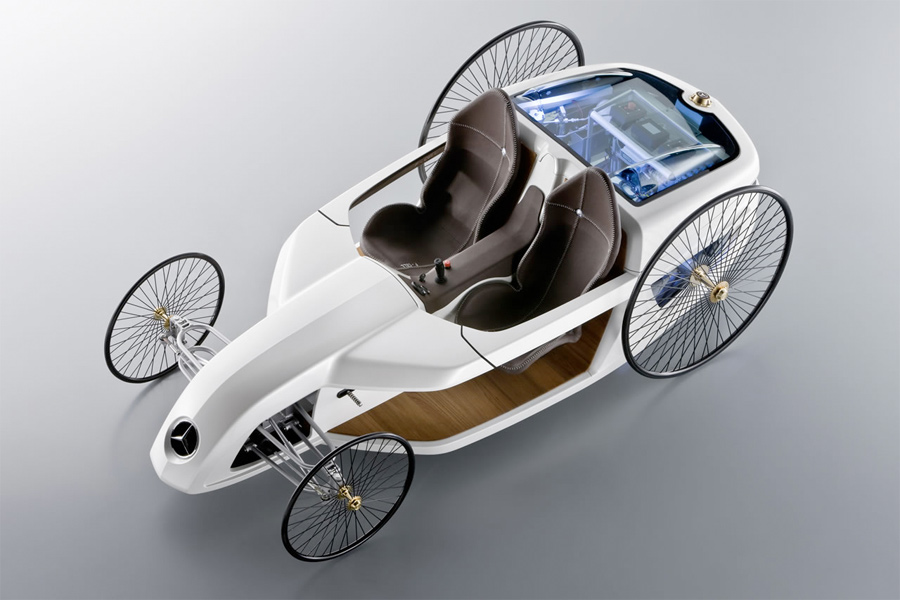 Mercedes-Benz F-CELL Roadster with Hybrid Drive (4)