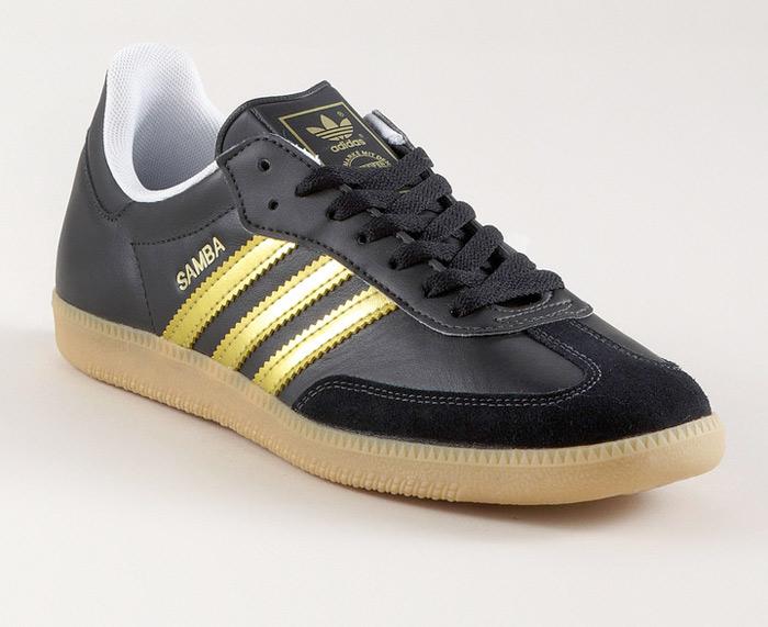 Adidas Sambas - Gold Stripes :: frontlineshop (1)