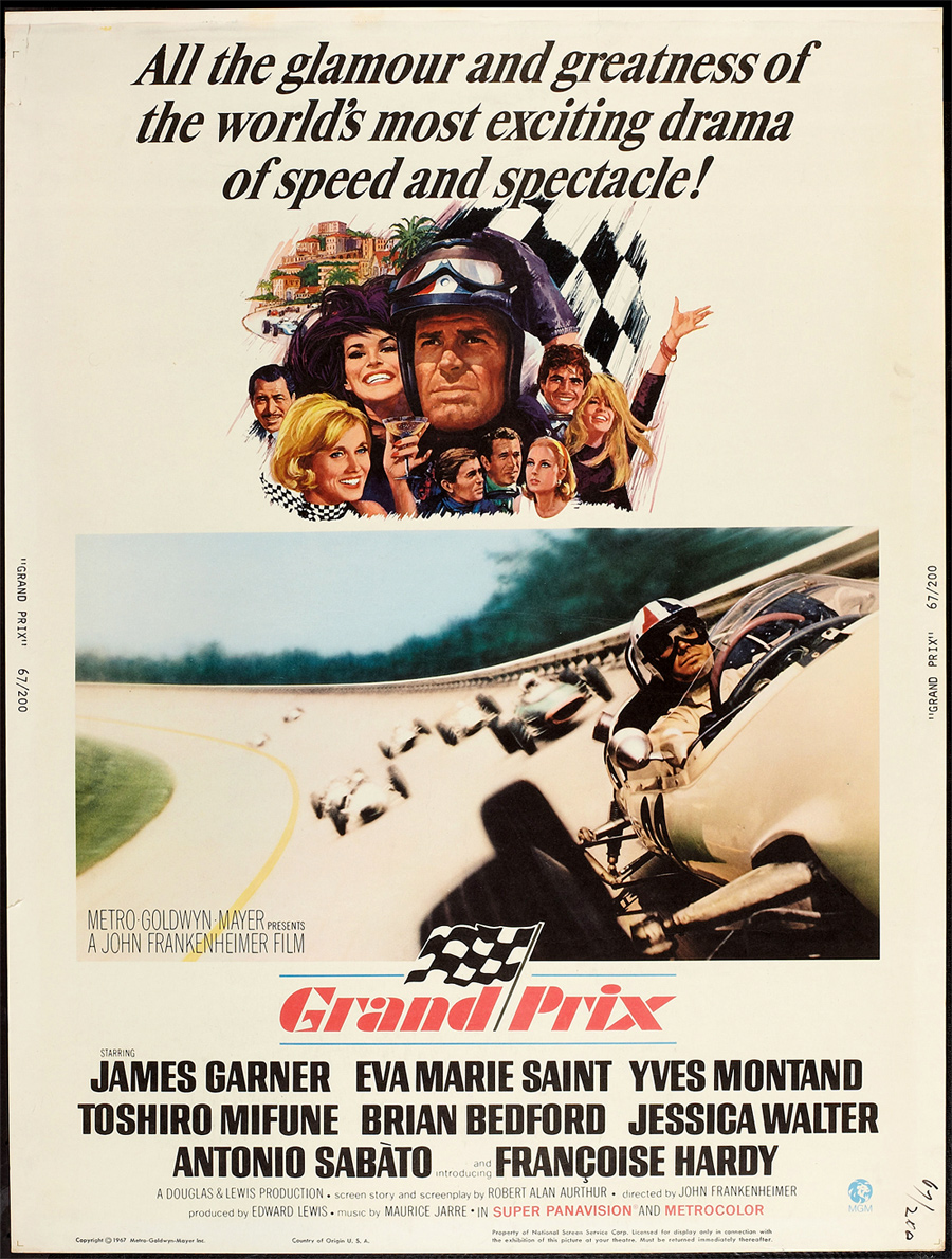 Grand Prix (1966) :: Title Sequence by Saul Bass (3)