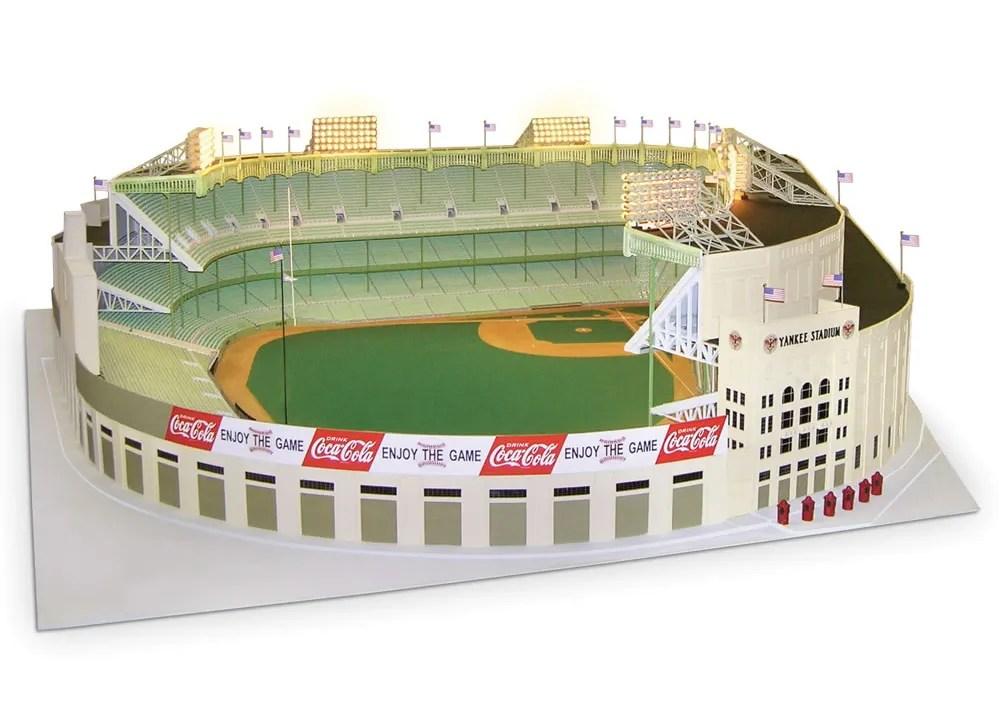 1/8 Scale 1961 Yankee Stadium :: Hammacher Schlemmer (2)