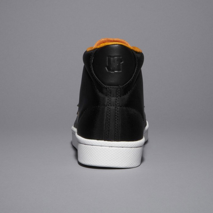 Undefeated + Converse Pro Leather Hi Black