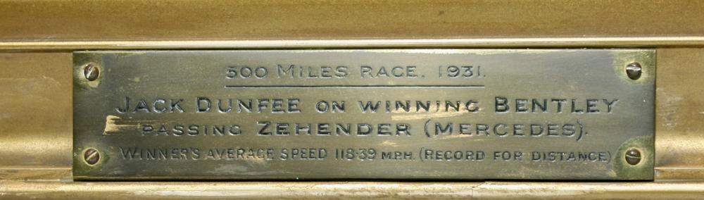 BENTLEY, OLD NO.1 SPEED SIX, BROOKLANDS 500 MILE RACE (3)