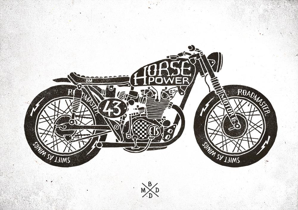 Triumph Motorcycle Clip Art