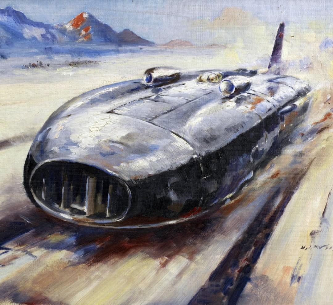 H. J. Moser, 'Thunderbolt', 1938