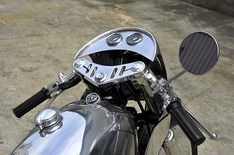 MOTO-CYCLE :: Yamaha SR400 under Kurumazaka (5)