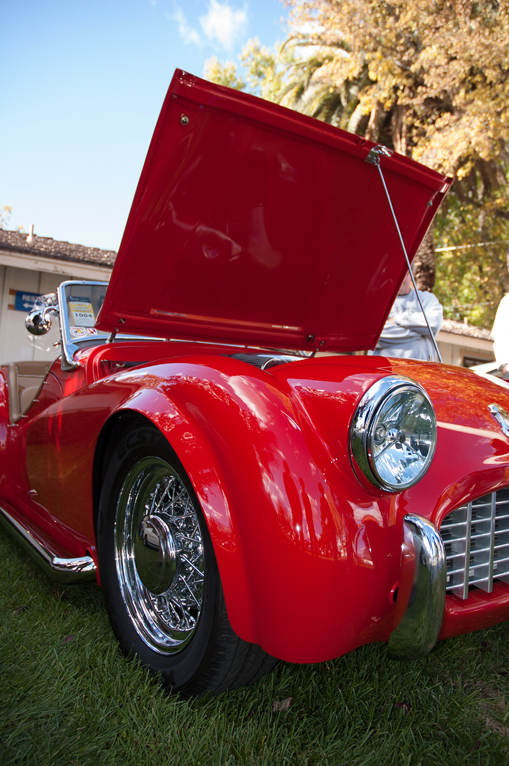 1957 Triumph TR3 :: Interview with Owner Lloyd Bedeger (7)