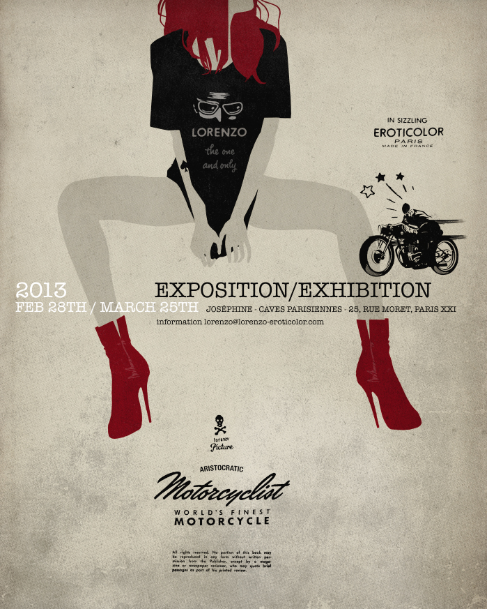 2013 Exposition/Exhibition :: Aristrocratic Motorcyclist