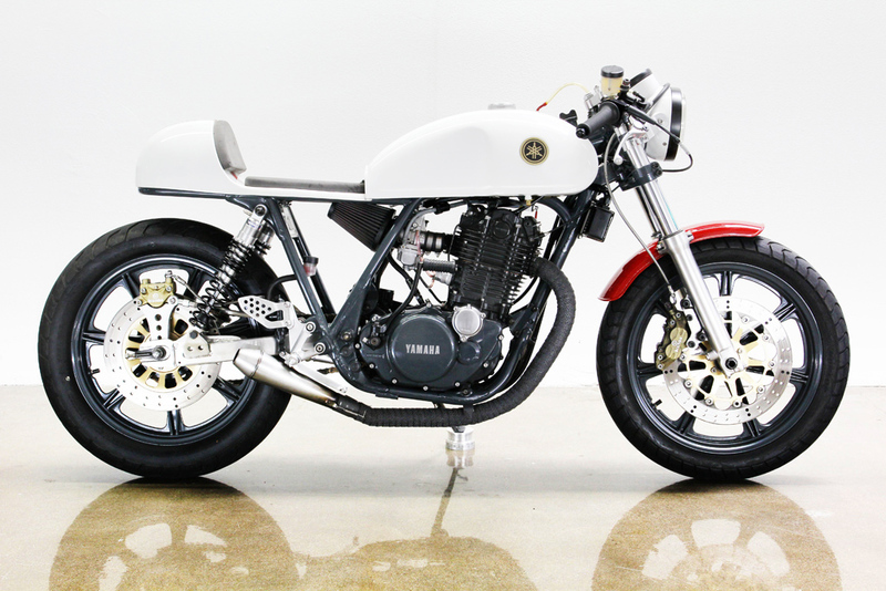 1978 Yamaha SR500 Cafe Racer by Lossa Engineering