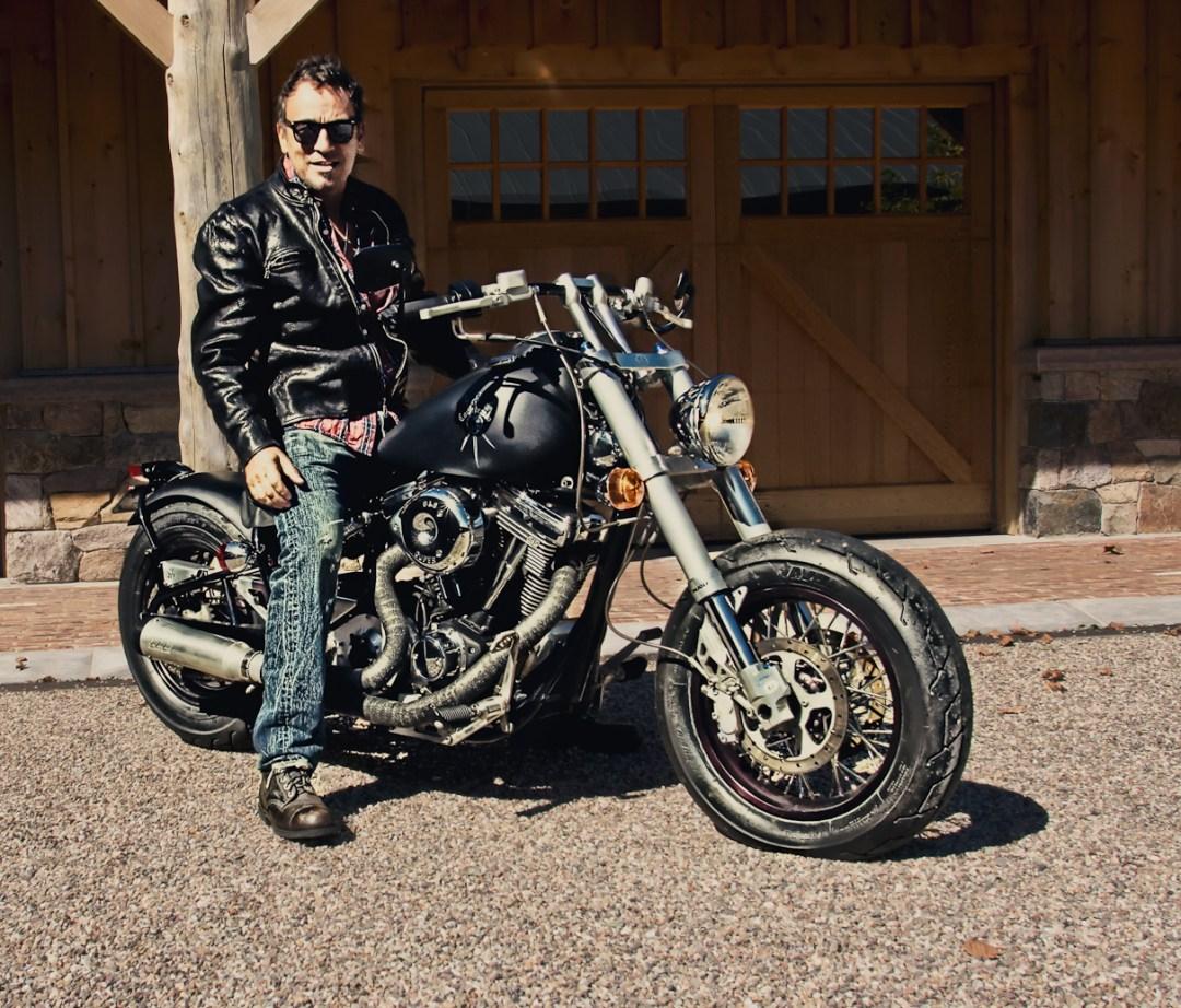 Bruce Springsteen and his Confederado