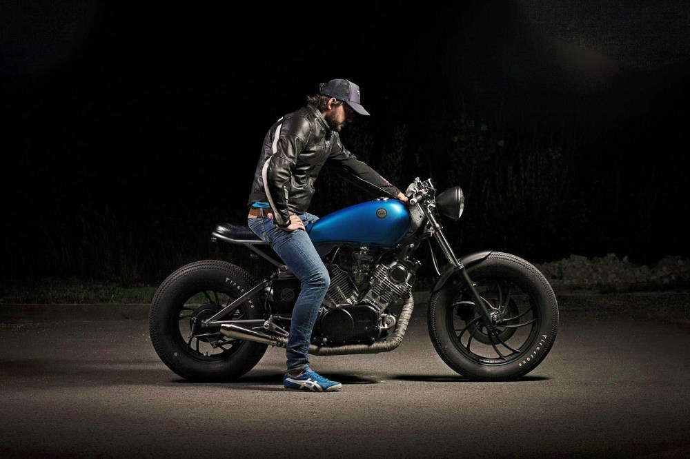 medium resolution of 750 xv cafe racer id e d image de moto