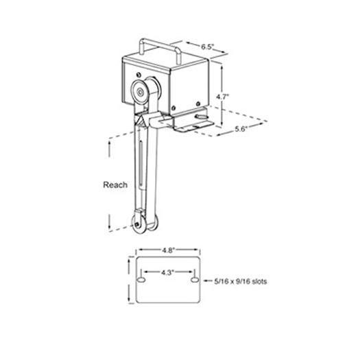 Buy Abanaki ST2CR-60, Tote-It Portable Belt Oil Skimmer