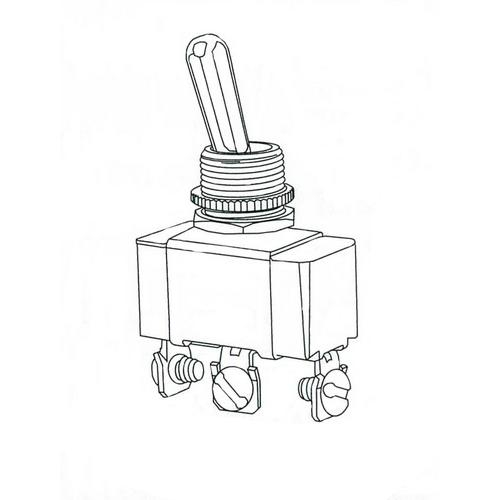Buy Morris 70100, Heavy DPST Duty 2 Pole Toggle Switch