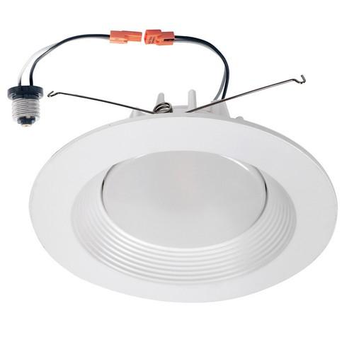 morris 72629 8 led recessed lighting retrofit kit 3000k 35w