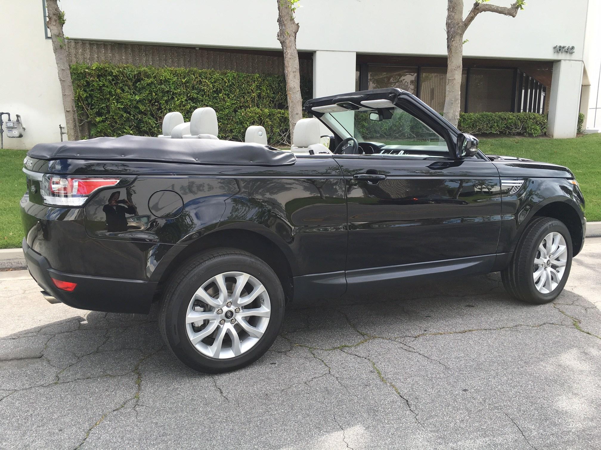 Range Rover 2 door Convertible