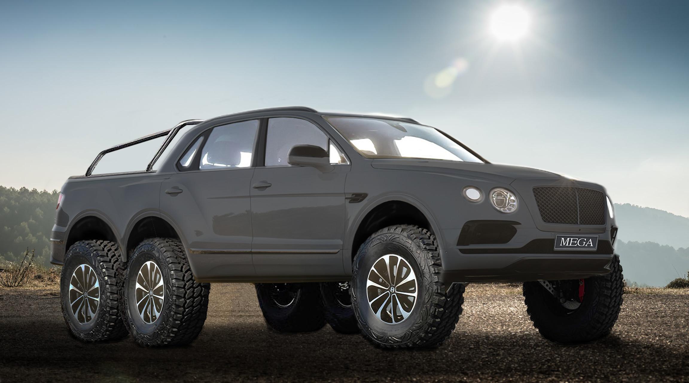 Bentley bentayga 6x6
