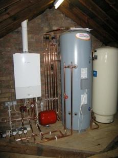 PLUMBING LONDON Megaflow Hot water System disaster page