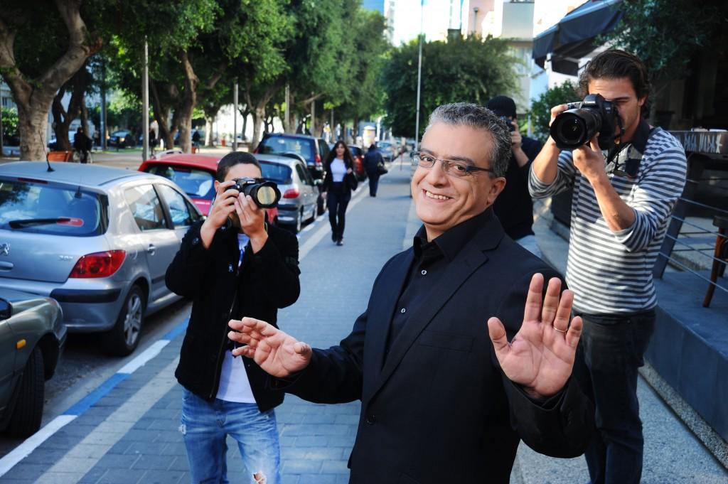 """אז מי פה ערבי: אמג'ד (נורמן עיסא), או איציק, או יאנה? צילום יח""""צ אלדד רפאלי"""