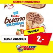 kinder bueno 30 stks 2 euro