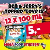 Ben&jerrys topped love is