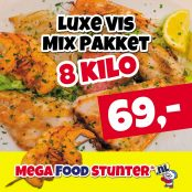luxe vis mix 8 kilo 69 euro