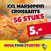 xxl marsepein croissants